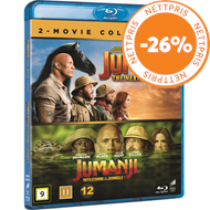 Produktbilde for Jumanji (2017 & 2019) (BLU-RAY)
