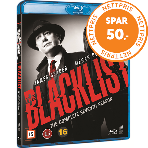 The Blacklist - Sesong 7 (BLU-RAY)