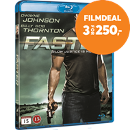 Produktbilde for Faster (BLU-RAY)