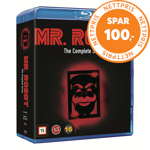 Mr Robot - Sesong 1-4: The Complete Series (BLU-RAY)