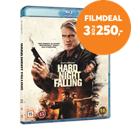 Produktbilde for Hard Night Falling (BLU-RAY)