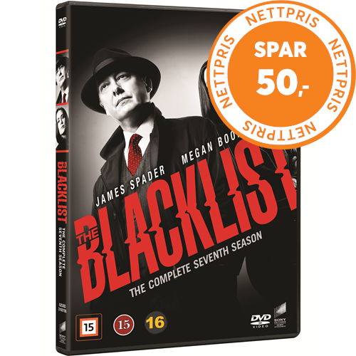 The Blacklist - Sesong 7 (DVD)