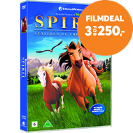 Produktbilde for Spirit - Hingsten Fra Cimarron (DVD)