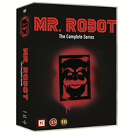 Produktbilde for Mr Robot - Sesong 1-4: The Complete Series (DVD)
