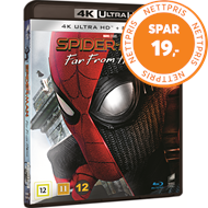 Produktbilde for Spider-Man: Far From Home (4K Ultra HD + Blu-ray)