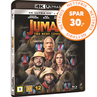 Produktbilde for Jumanji 2: The Next Level (4K Ultra HD + Blu-ray)