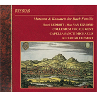 Produktbilde for Motets & Cantatas By The Bach Family (CD)