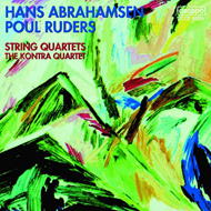 Produktbilde for Abrahamsen/Ruders: String Quartets (CD)
