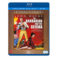 Produktbilde for The Barbarian And The Geisha (Blu-ray + DVD)