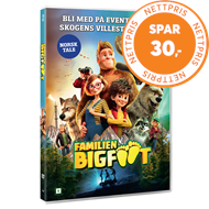 Produktbilde for Familien Bigfoot (DVD)