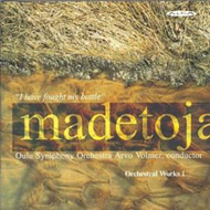 Produktbilde for Madetoja: Orchestral Works, Volume 1 (UK-import) (CD)