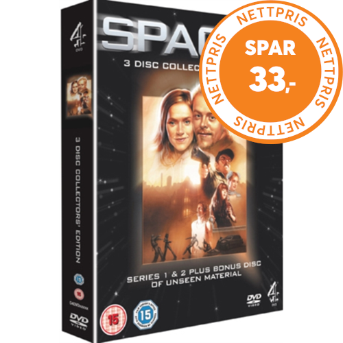 Spaced - The Definitive Edition - Series 1 & 2 (UK-import) (DVD)