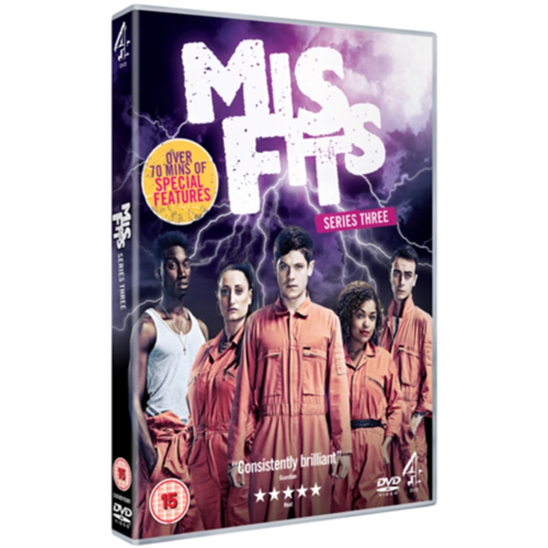 Misfits - Sesong 3 (UK-import) (DVD)