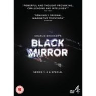 Produktbilde for Black Mirror - Sesong 1 & 2  + Special (UK-import) (DVD)
