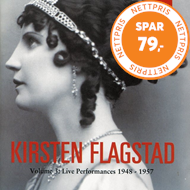 Produktbilde for Kirsten Flagstad, Vol.3: Live Performances 1948-57 (CD)