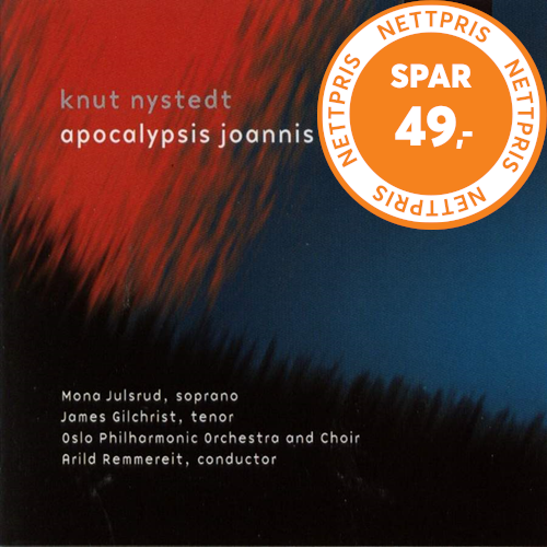 Nystedt: Symphony for Soprano and Tenor, Choir and Orchestra Op 115 (CD)