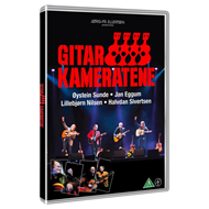 Produktbilde for Gitarkameratene - Historien Om (m/CD) (DVD)