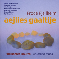 Produktbilde for Aejlies Gaaltije - The Sacred Source (CD)