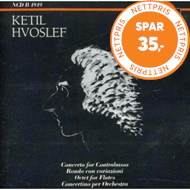 Produktbilde for Hvoslef: Orchestral and Chamber Works (CD)