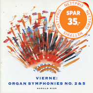 Produktbilde for Vierne: Symphonies Nos 2 and 5 (CD)