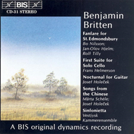 Produktbilde for Britten: Miscellaneous works (CD)