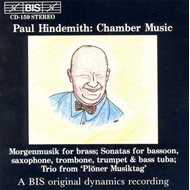 Produktbilde for Hindemith: Chamber Works (CD)
