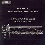 Produktbilde for La Spagna (CD)