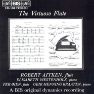 Produktbilde for The Virtuoso Flute (CD)