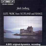 Produktbilde for Lute Music from Scotland and France (CD)