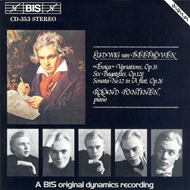 Produktbilde for Beethoven: Piano Music (CD)