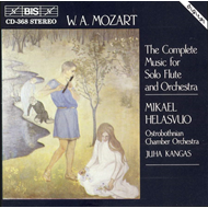 Produktbilde for Mozart: Complete Music for Solo Flute and Orchestra (CD)