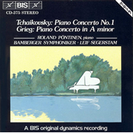 Produktbilde for Tchaikovsky/Grieg: Piano Concertos (CD)