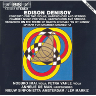 Produktbilde for Denisov: Orchestral & Chamber Works (CD)
