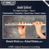 Produktbilde for Jolivet: Flute Music, Volume 1 (CD)