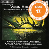 Produktbilde for Holmboe: Symphonies Nos 8 & 9 (CD)