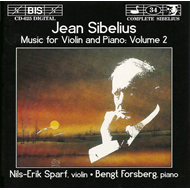Produktbilde for Sibelius: Music for Violin and Piano, Volume 2 (CD)