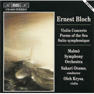 Produktbilde for Bloch: Violin Concerto;Poems of the Sea etc (CD)