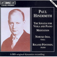Produktbilde for Hindemith: Sonatas for Viola and Piano (CD)