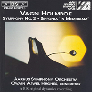 Produktbilde for Holmboe: Symphony No 2;Sinfonia in memoriam (CD)