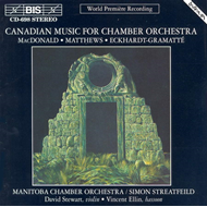 Produktbilde for Canadian Music for Chamber Orchestra (CD)