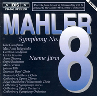 Produktbilde for Mahler: Symphony No 8 (CD)