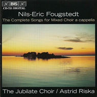 Produktbilde for Fougstedt: Complete Songs for Mixed Choir (CD)
