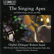 Produktbilde for The Singing Apes (CD)