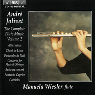 Produktbilde for Jolivet: Complete Flute Music, Vol. 2 (CD)