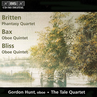 Produktbilde for Britten/Bax/Bliss: Oboe Works (CD)