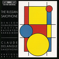 Produktbilde for The Russian Saxophone (CD)