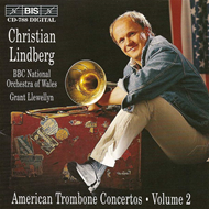 Produktbilde for American Trombone Concertos, Volume 2 (CD)
