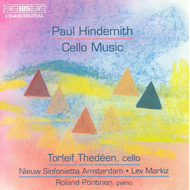 Produktbilde for Hindemith: Cello Music (CD)