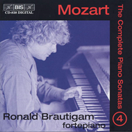 Produktbilde for Mozart: Piano Sonatas, Vol. 4 (CD)