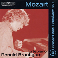 Produktbilde for Mozart: Piano Sonatas, Vol. 5 (CD)